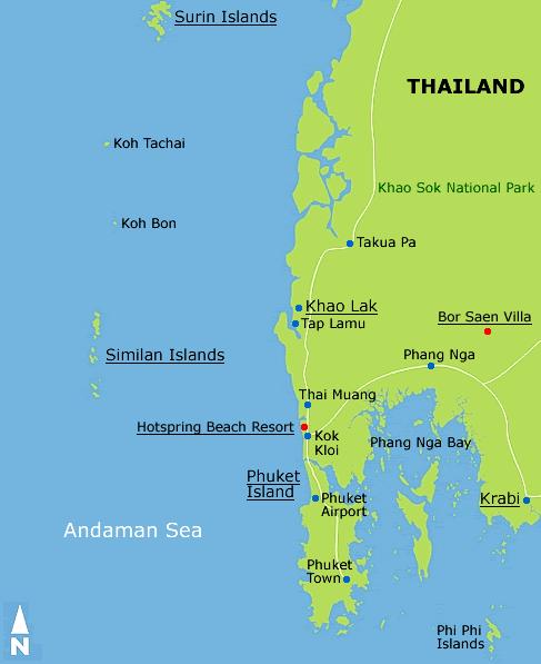 Giornale degli amici di phuket thailandia similan for Dormire a phuket